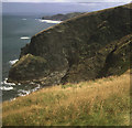 SX1192 : Clifftops north of Beeny by Trevor Rickard