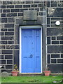 SD9527 : Blackshaw Head Methodist Church, Doorway by Alexander P Kapp