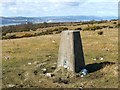 NS3778 : Trig point near Kipperoch Farm by Lairich Rig