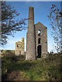 SW6638 : Engine houses at Fortescue's Shaft, Wheal Grenville by Rod Allday