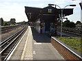 TQ1687 : Northwick Park tube station, island platform by Oxyman