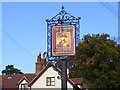 TM2247 : The Admiral's Head Public House Sign by Adrian Cable