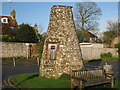TQ5203 : The Flint Tower, Alfriston, East Sussex by Oast House Archive