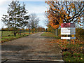 TL3361 : Entrance to Glebe Farm Campus by Keith Edkins