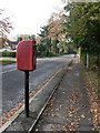 SZ0799 : Ferndown: postbox № BH22 61, Dudsbury Avenue by Chris Downer