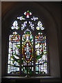 TQ2565 : All Saints church Benhilton - window by Stephen Craven
