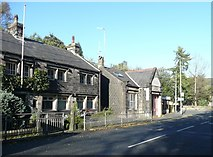 SE0025 : Buildings, Cragg Road B6138, Mytholmroyd by Humphrey Bolton