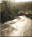 SX4660 : Fore Street, Tamerton Foliot by Derek Harper