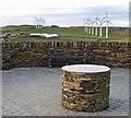 SE2104 : Royd's Moor viewing area by Steve  Fareham