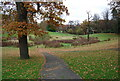 TQ5940 : Boggy hollow, Grosvenor Recreation Ground. by N Chadwick