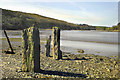 SX3955 : The River Lynher at low tide by John Mavin
