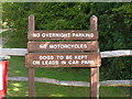 TQ5745 : Obey the signs, Haysden Country Park by Nigel Chadwick