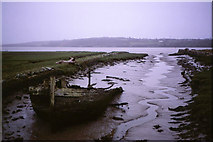 S6616 : Old harbour at Ballinlaw, Co. Kilkenny by Kieran Campbell