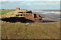 TA3525 : Coastal erosion south of Intack farm by Christine Church