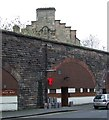 NS5964 : Osborne Street railway arches by Thomas Nugent