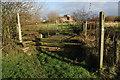 SO9546 : Footbridge over Piddle Brook by Philip Halling