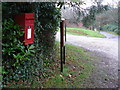 SU0106 : Chalbury: postbox № BH21 168 by Chris Downer