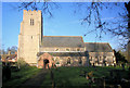 TL6254 : St Mary's Church, Brinkley by Bob Jones