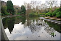 TQ5940 : Lake, Grosvenor Recreation Ground by N Chadwick