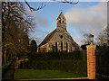 TL6857 : Roman Catholic Church, Kirtling by Hugh Venables
