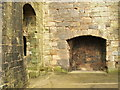 NS5262 : Fireplace in Crookston Castle by Lairich Rig