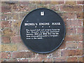 Photo of Marc Isambard Brunel and Brunel's Engine House black plaque