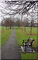 TQ2388 : Hendon Park : Week 50