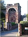 SX9292 : Rougemont Castle Gatehouse, Exeter by Derek Harper