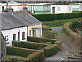 SN6680 : Cottages & Caravans in Dolypandy - Christmas Day 2008 by John Lucas