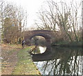 TQ1278 : Grand Union Canal bridge 202 - Regina Road by David Hawgood