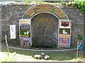 SK1969 : Well Dressing, Ashford in the Water by DAVID M GOODWIN