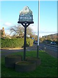 TQ7158 : Ditton Village Sign by David Anstiss