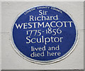 Photo of Richard Westmacott blue plaque