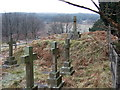 SK0074 : Errwood Hall Cemetery by Gethin Evans