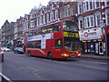 TQ2587 : 83 bus North End Road by David Howard