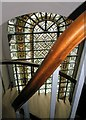 TQ3081 : Spiral staircase within St George's, Bloomsbury : Week 1