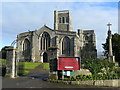 ST4347 : St. Mary's church, Wedmore : Week 2