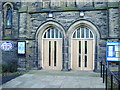 SE0318 : Stones Methodist Church, Doorway by Alexander P Kapp