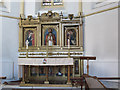 TQ2549 : Altar and reredos in St Luke's church by Stephen Craven
