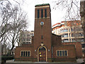 TQ3180 : Christ Church, Southwark: front view by Stephen Craven
