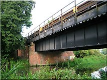 SU6971 : Railway bridge over the Kennet and Avon Canal by Simon Mortimer