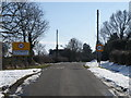 TL1490 : Folksworth approach from the Morborne road by Michael Trolove