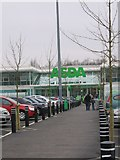 SP0694 : Asda Superstore, Queslett by Roy Hughes