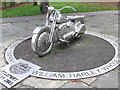 TL5686 : Stainless Steel Harley by Keith Evans