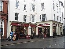 SO5174 : Coffee franchise, King Street by Richard Webb