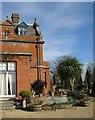 TL6669 : Chippenham Hall and Terrace by Alison Rawson