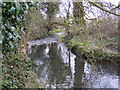 TM3258 : River off Ford Road, Marlesford by Adrian Cable