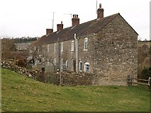 ST7156 : Farm cottages, Shoscombe by Derek Harper