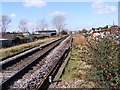 TM2141 : Along the tracks looking towards Warren Heath by Adrian Cable