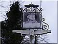 TM4077 : The Lord Nelson Public House Sign by Adrian Cable